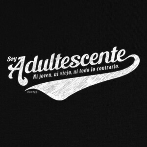 Tee-shirts Soy Adultescente