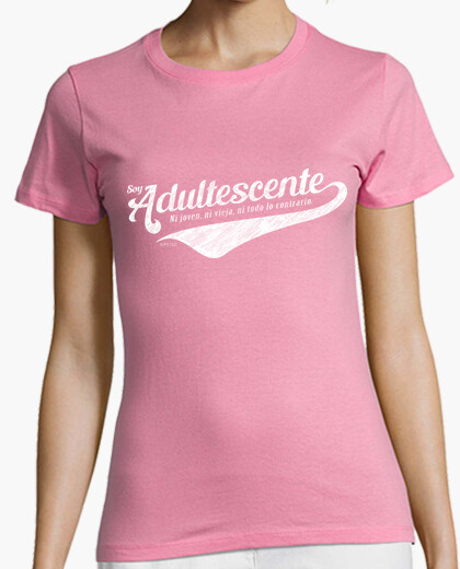 Soy Adultescente camiseta chica