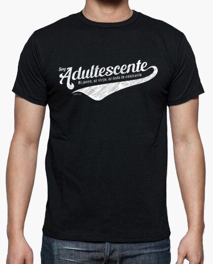 Soy Adultescente camiseta chico