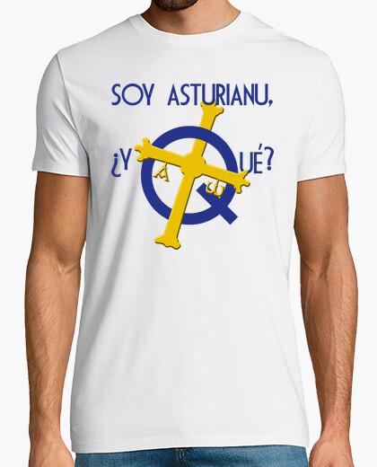 Soy asturiano, ¿y qué? - Camiseta de manga corta