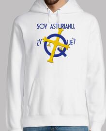 Soy asturiano, ¿y qué? - Jersey con capucha