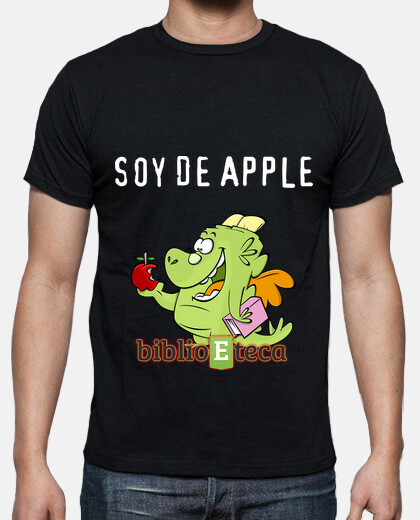 Camisetas Soy de Apple