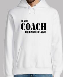 Soy entrenador para tu placer