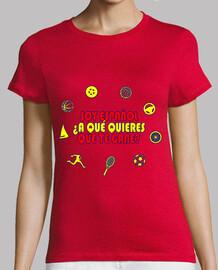 Soy español ¿a que quieres que te gane? (chica)