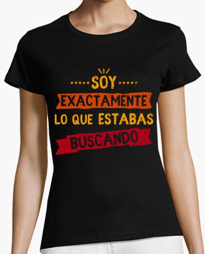 Camiseta Soy exactamente...