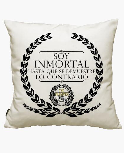 Funda cojín Soy Inmortal