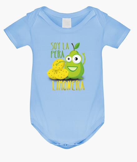 Ropa infantil Soy la pera limonera