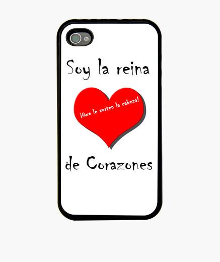 Funda iPhone Soy la reina de corazones ¡Que le corte la cabeza!
