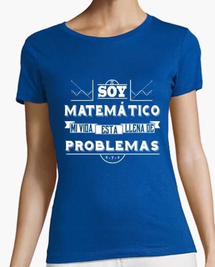 Camiseta soy matematico