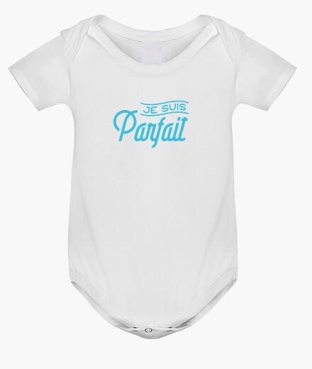 Ropa infantil Soy perfecto bebe nacimiento