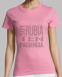 Soy Rubia, Paciencia