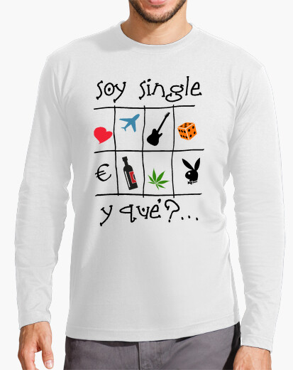 Soy single - Camiseta de manga larga