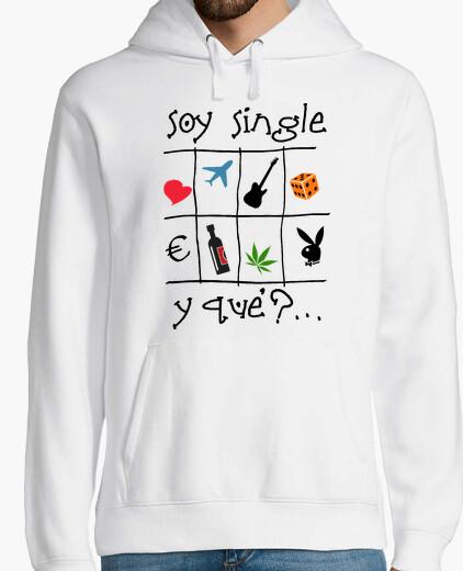 Soy single - Jersey con capucha