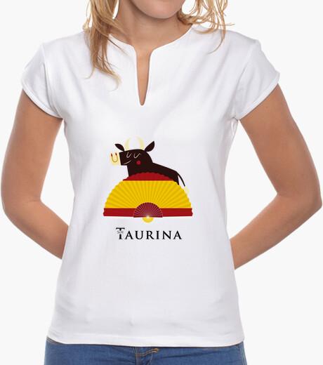 Camiseta Soy Taurina - Toro