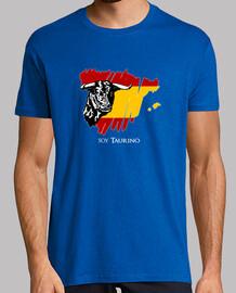 Soy Taurino - Toro y bandera de España