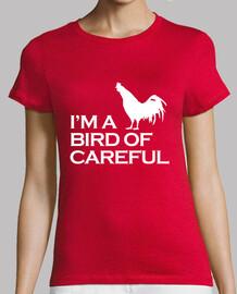 Soy un pájaro de cuidado