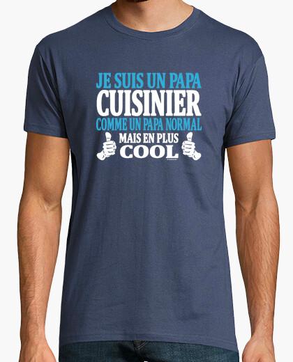 Camiseta soy un papá del cocinero