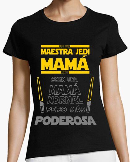 Camiseta SOY UNA MAESTRA JEDI MAMÁ...