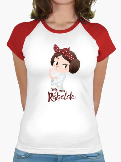 Camiseta Soy una rebelde v2