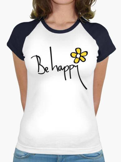 Tee-shirt soyez heureux