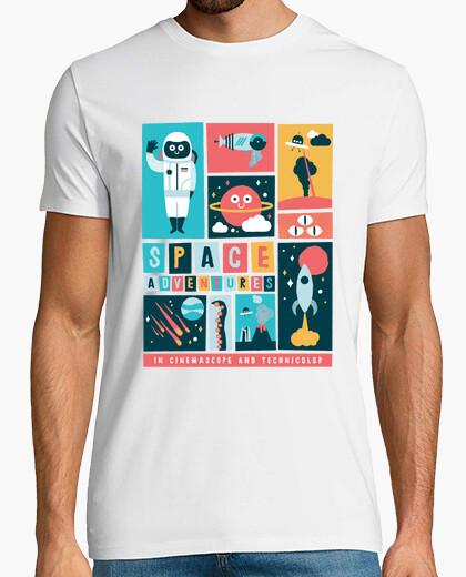 Space adventures t-shirt