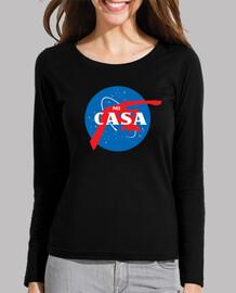 Space camiseta manga larga mujer