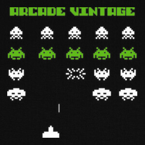 Camisetas Space Invaders Arcade Vintage