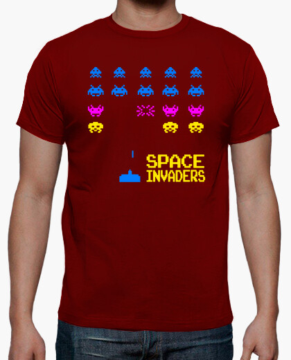 Space Invaders Red T-shirt