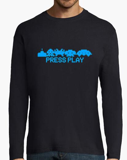 Camiseta Space Invaders Press Play 5