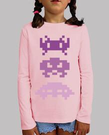 Space Invaders Purples