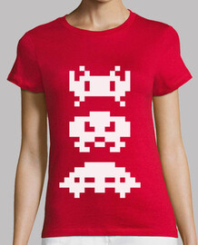 Space Invaders (White)