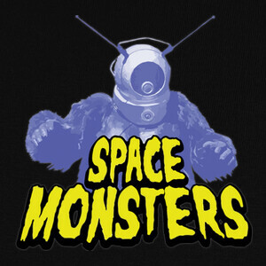 Camisetas Space Monsters Retro Terror