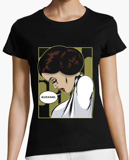 Camiseta Space Sorrows Leia