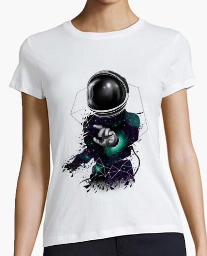 T-Shirt space warp shirt frauen