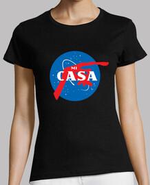 space women's short manga t shirt