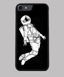 Spaceman Funda iPhone 7/8, negra