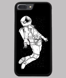 Spaceman Funda iPhone 7/8 PLUS, negra