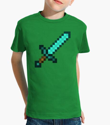 Abbigliamento bambino Spada Minecraft