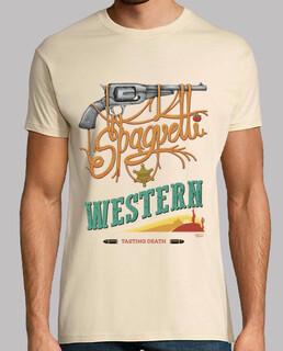 spaghetti western - t shirt - t shirt h