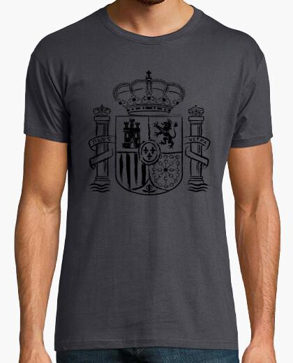 Spanish shield - black edition t-shirt