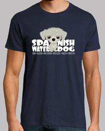 Spanish Water Dog (White) - DGBighead