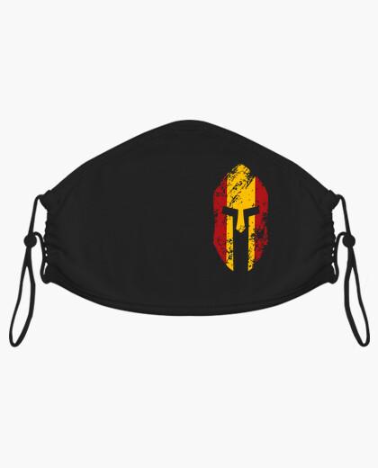 Mascarilla Spartan bandera de España