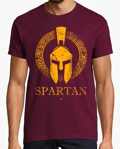 Tee-shirt spartan gold edt
