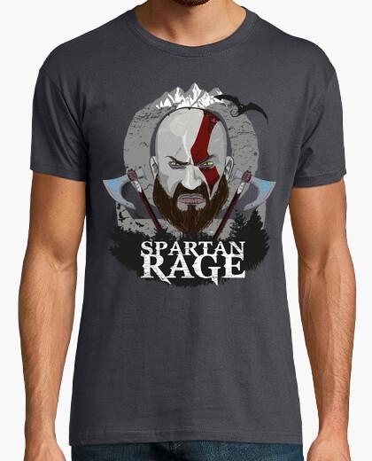 Spartan rage t-shirt