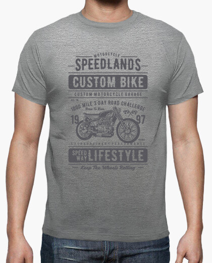 Speedlands t-shirt