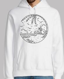 spiaggia e nave