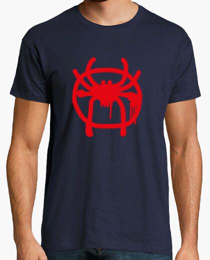 Camiseta Spiderman Logo Miles Morales