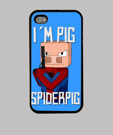 SpiderPig Funda iPhone4