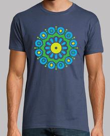 spirale de mandala tropical