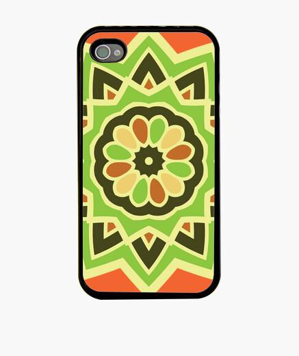 Cover iPhone spirale di mandala autunnale